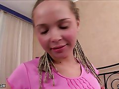 Blonde Creampie Hardcore Russian Teen