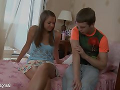 Anal Brunette Facial Russian Teen