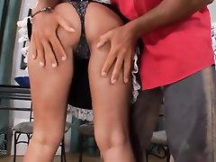 Babe Blowjob Ebony Feet