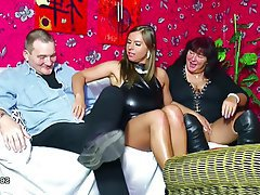 German Hardcore Old and Young Threesome