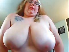 British Amateur BBW Big Boobs Big Cock