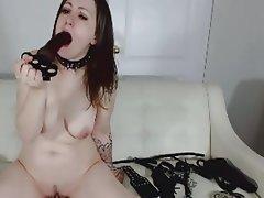 Amateur Masturbation Webcam Deepthroat Sucking
