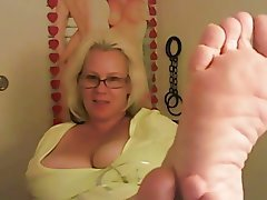 Big Boobs Blonde Foot Fetish Webcam