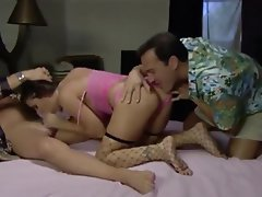 Anal Old and Young Threesome