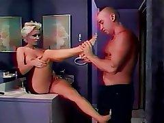 MILF Big Boobs Blonde Foot Fetish