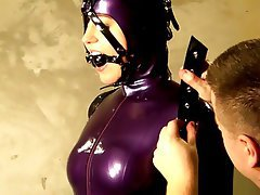 Bupshi latex pony girl training - 2 part 7